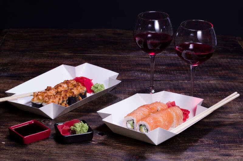 Vino Rosso da Sushi