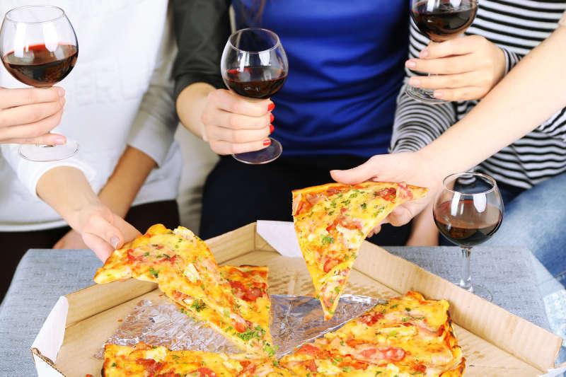Abbinamento Pizza Vino Rosso