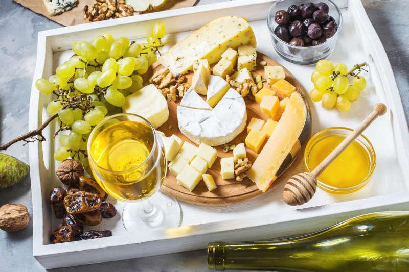 Abbinamento tra il Riesling e vari formaggi