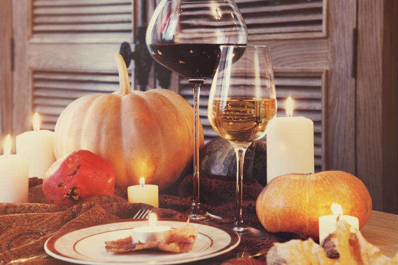 Abbinamento Vino con Zucca - Calici di Vino