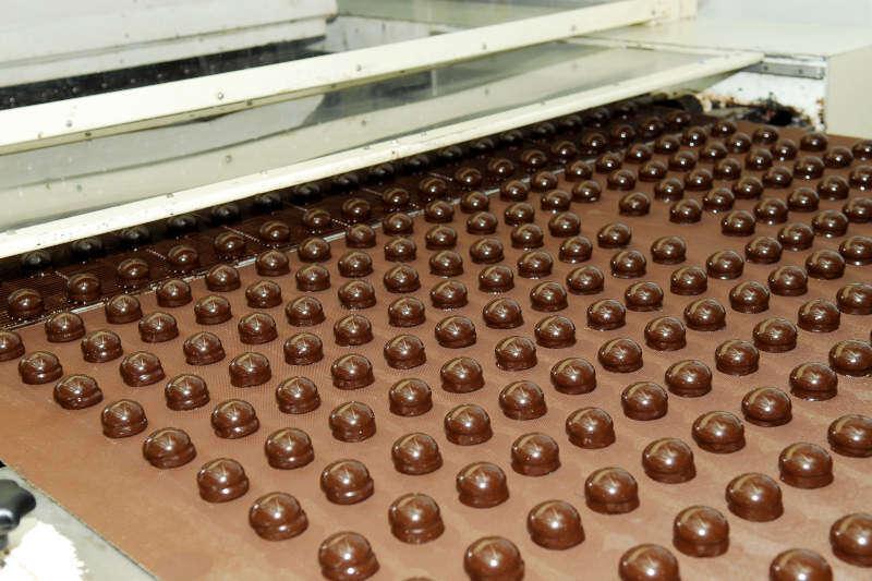 Produzione moderna di Cioccolatini
