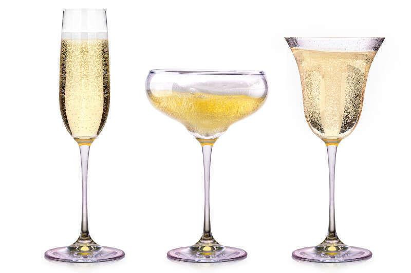 I vari tipi di Calice per bere bollicine