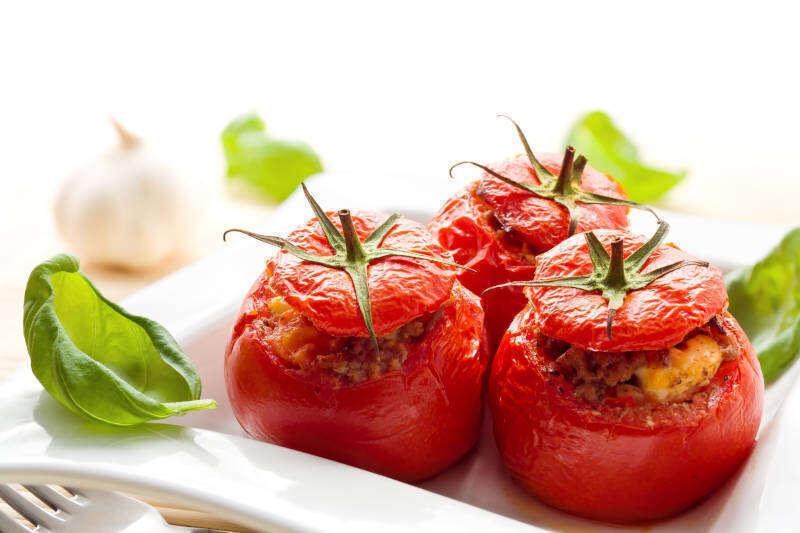 Pomodori ripieni da abbinare al Cabernet Franc