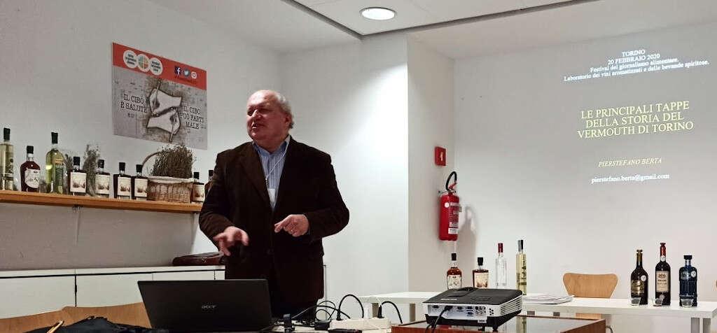 Pierstefano Berta racconta il Vermouth di Torino