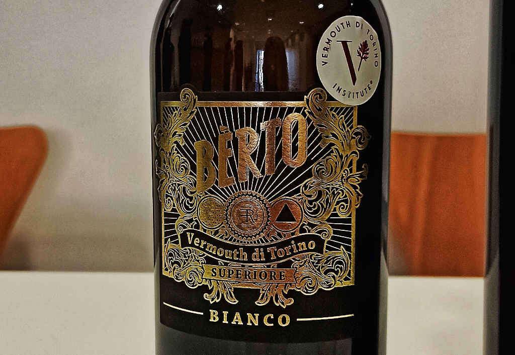 Vermouth di Torino Superiore Bianco Bertò Antica Distilleria Quaglia