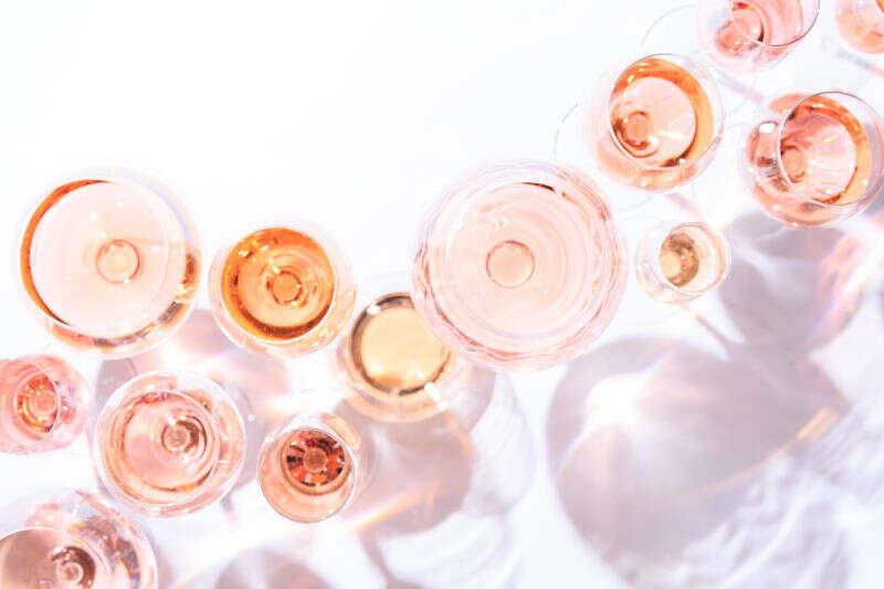 Calici Degustazione Vini Rosati