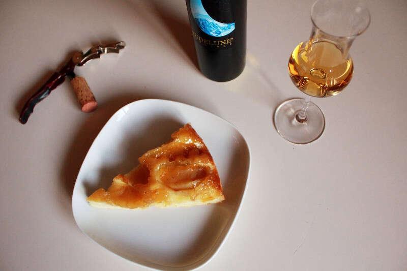 Abbinamento Ice Wine e Torta di Mele